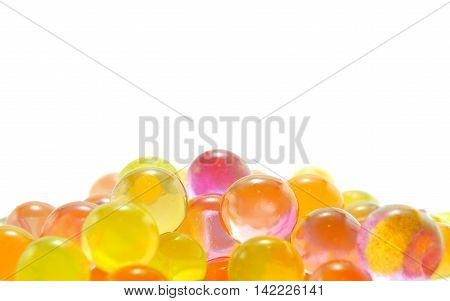 The Jelly Crystal Ball on white background