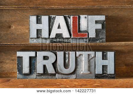 Half Truth Tray