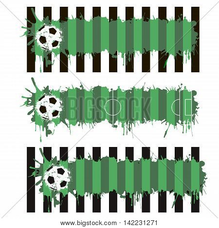 Soccer Pitch Blots