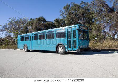 Abandonar el autobús azul