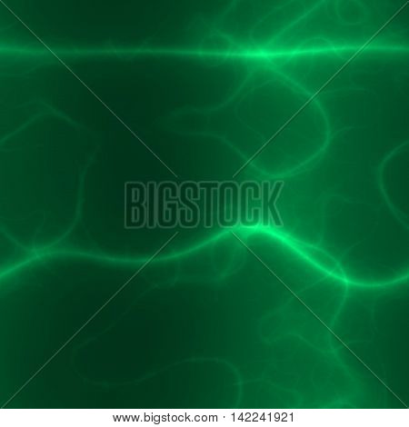 Abstract green glow spiritual calm healing and relax background