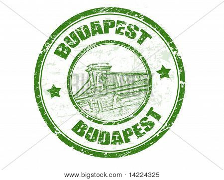 Budapest Stamp
