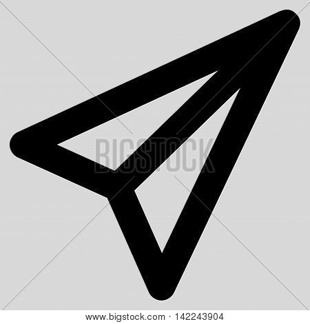 Freelance glyph icon. Style is stroke flat icon symbol, black color, light gray background.