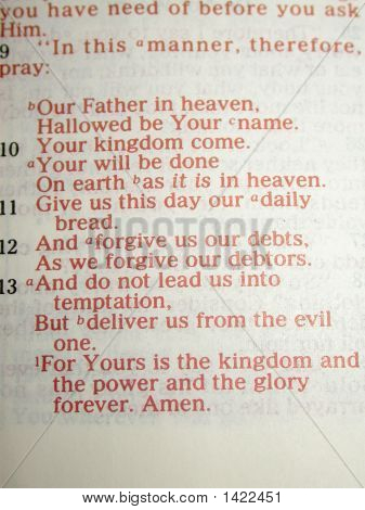 Our Father'S Prayer