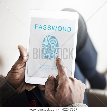 Password Security Accessible Login Concept
