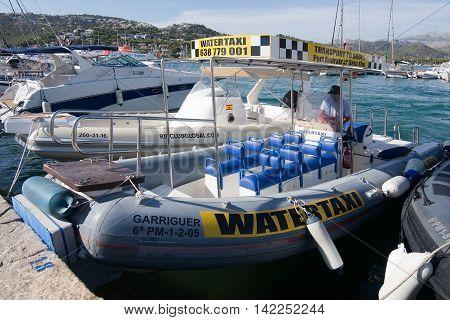 Water Taxi Port Andratx Mallorca