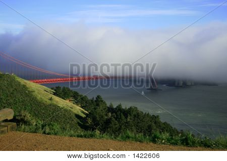 Golden Gate,Sf Cloudy