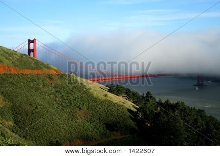 View Of  Golden  Gate, Ca