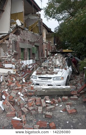 Christchurch Earthquake 22 Feb 20011