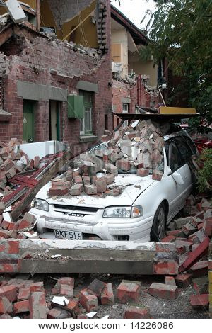 Terremoto de Christchurch 22 Feb 20011