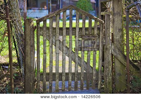 Old Wood Gate
