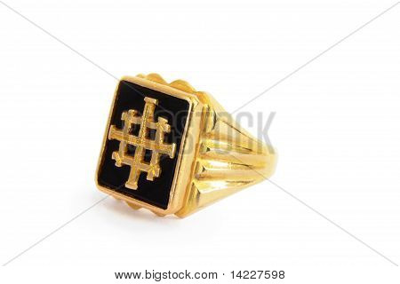 Traditional Ethiopian Mens Ring