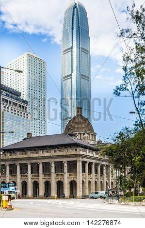 Hongkong Legislative Council Building In Hong Kong