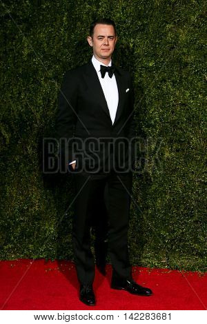 NEW YORK-JUN 7: Actor Colin Hanks attends American Theatre Wing's 69th Annual Tony Awards at Radio City Music Hall on June 7, 2015 in New York City.