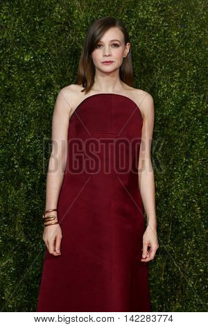 NEW YORK-JUN 7: Actress Carey Mulligan attends American Theatre Wing's 69th Annual Tony Awards at Radio City Music Hall on June 7, 2015 in New York City.