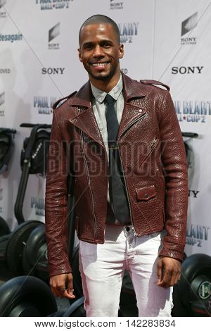 NEW YORK-APR 11: Actor Eric West attends the world premiere of