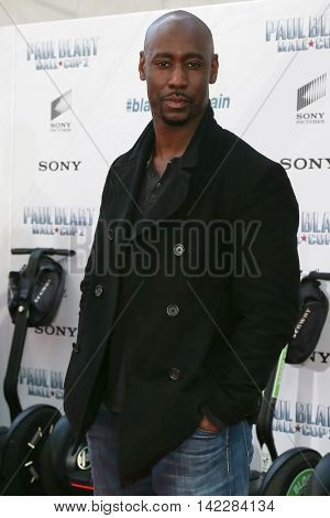 NEW YORK-APR 11: Actor D.B. Woodside attends the world premiere of