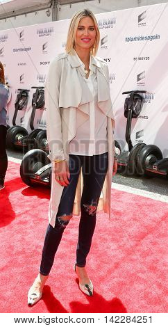 NEW YORK-APR 11: TV personality Kristen Taekman attends the world premiere of