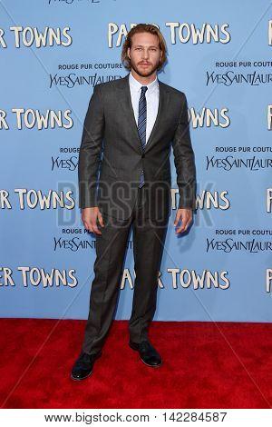NEW YORK-JUL 21: Actor Luke Bracey attends the