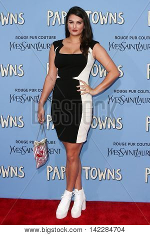 NEW YORK-JUL 21: Model Lily Lane attends the