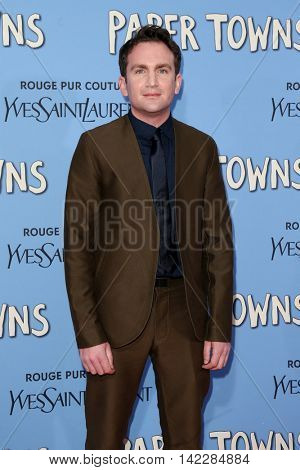 NEW YORK-JUL 21: Director Jake Schreier attends the