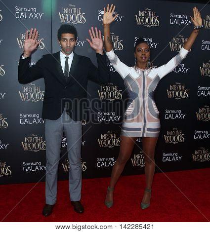 NEW YORK-DEC 8: Actress Condola Rashad (R) and Rafael DeLeon attend the