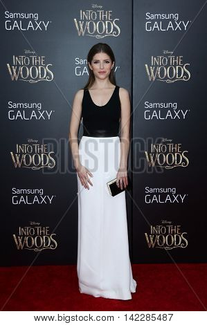 NEW YORK-DEC 8: Actress Anna Kendrick attends the