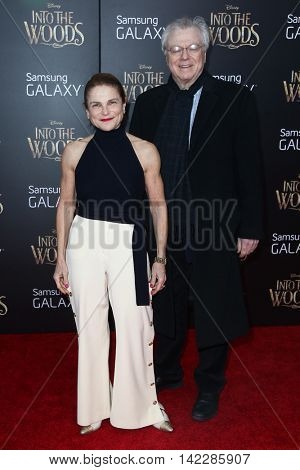 NEW YORK-DEC 8: Actress Tovah Feldshuh (L) and  Andrew Levy attend the