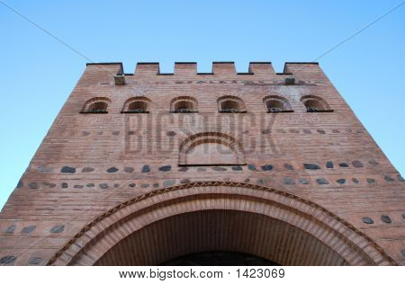 The Ancient Tower Golden Gate Kiev Restored