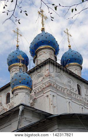 Church of Our Lady of Kazan in Kolomenskoye park, Moscow