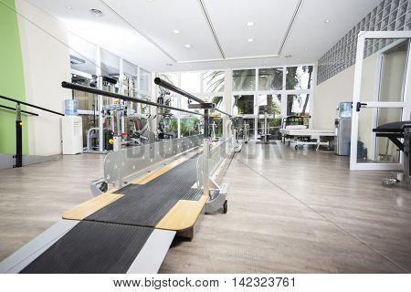 Walking Equipment In Rehab Center