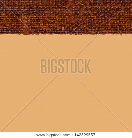 Textile structure fabric fashion khaki canvas jutesack material paper background