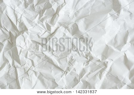 Close up of bright color wrinkled paper texture background.
