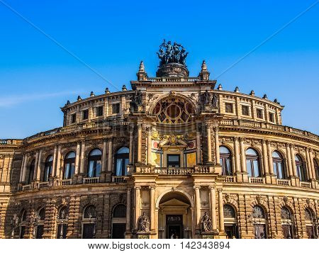 Dresden Semperoper Hdr