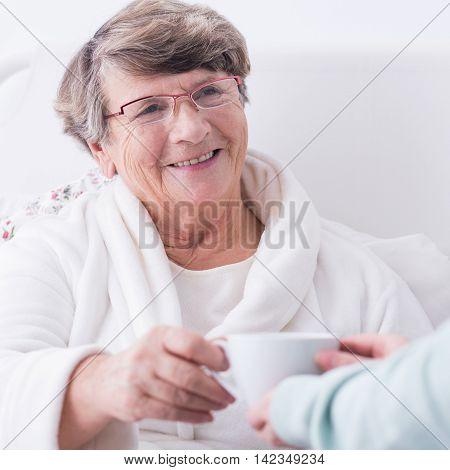 Female Rest Home Resident