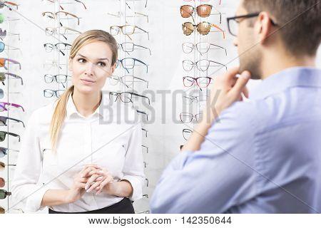 At Eyewear Store