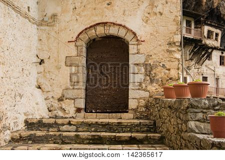 Monastery of Prodromos in Arkadia Peloponnese Greece.