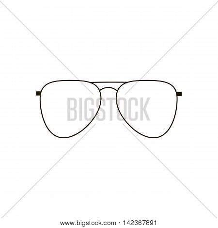 Aviator Glasses Icon. Sun Glasses. Vector illustration