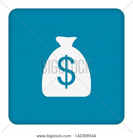 Money bag sign icon. Dollar USD currency symbol. Vector.