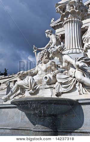 A fonte de Athene, Viena