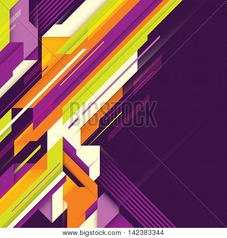 Abstract technology background design. Vector illustration.