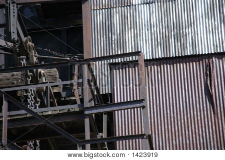Butte Mining Tower Detail