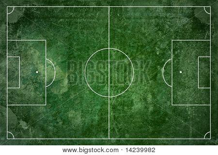 Grunge Fußball Feld Texture background
