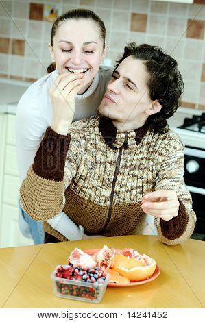 Couple Ot Kitchen