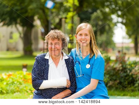 Caring For The Elderly With Injury