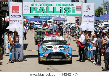 Yesil Bursa Rally 2016