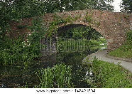 Bagpath Bridge over the Thames & Severn Canal Thrupp Stroud Gloucestershire