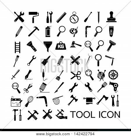 an images of Tool icon illustration design.