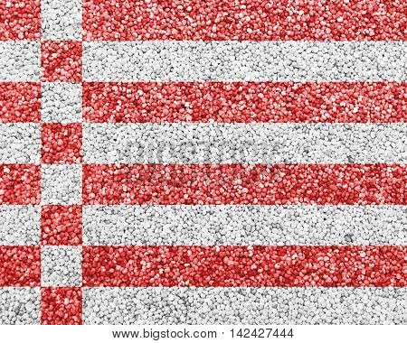 Flag On Poppy Seed