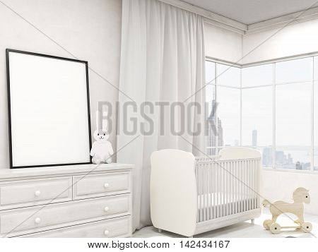 Nursery Room With Poster